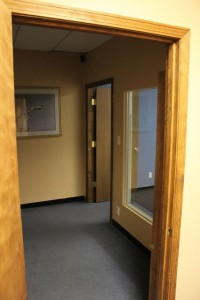 Hallway to Westside Family and Community Center Room 2