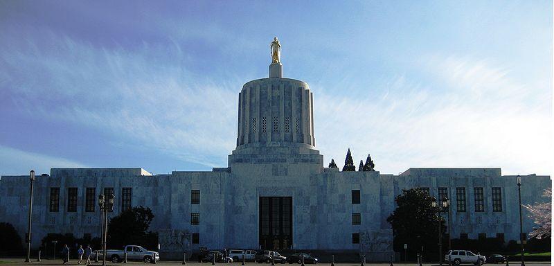 Oregon State Capitol Salem Oregon