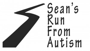 Sean's Run from Autism Logo 2008