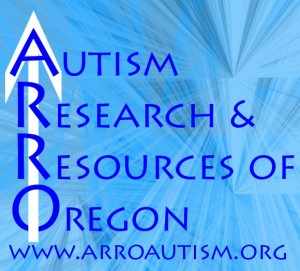 Autism Research and Resources of Oregon Ice logo created by Dan Yedinak