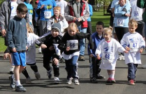 Start of Kids Run Seans Run From Autism 2011
