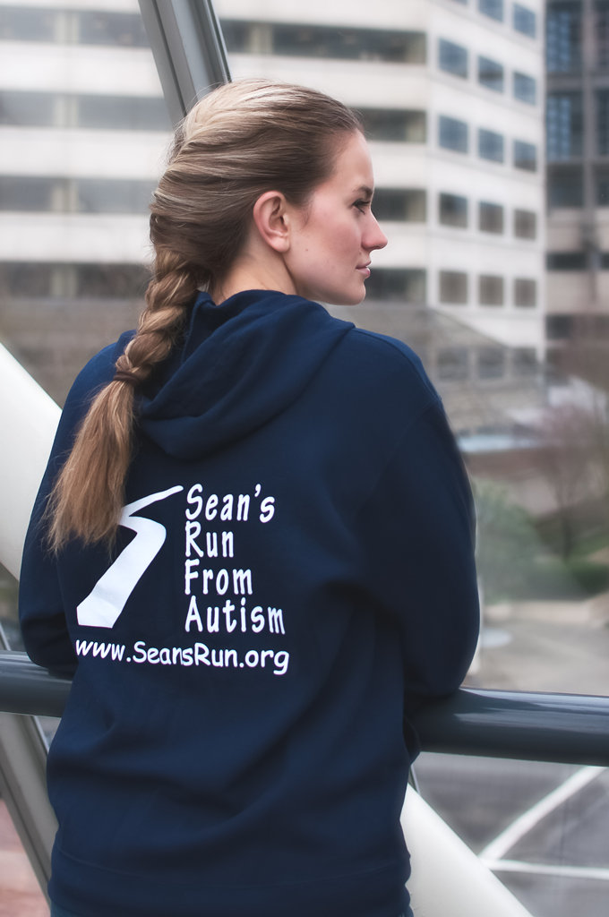 Sean's Run from Autism Hooded Sweatshirt