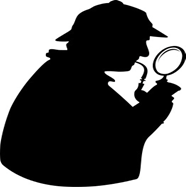 ARROAutism Presents the Northwest Autism Research Fair represented by image of  Sherlock silhouette