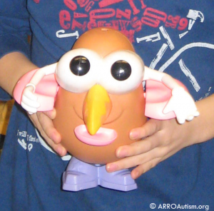 Mister Potato Head photo at ARROAutism Family Social