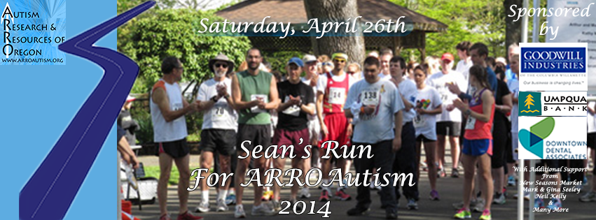 Sean's Run for ARROAutism 2014!
