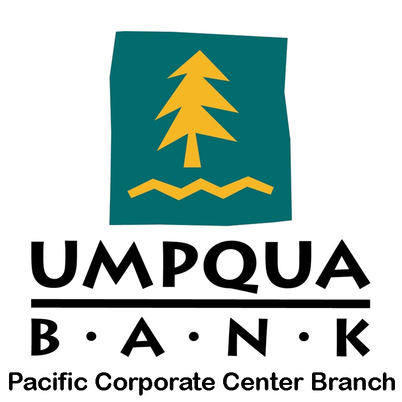 Umpqua Bank Pacific Corporate Center Branch - A Sean's Run Sponsor